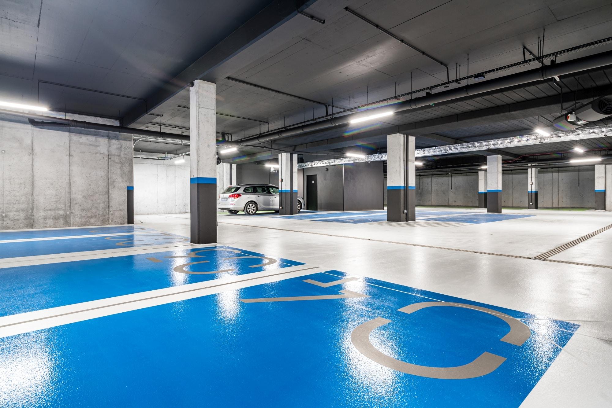 Projekt hala parkingowa Borowego Kraków 3