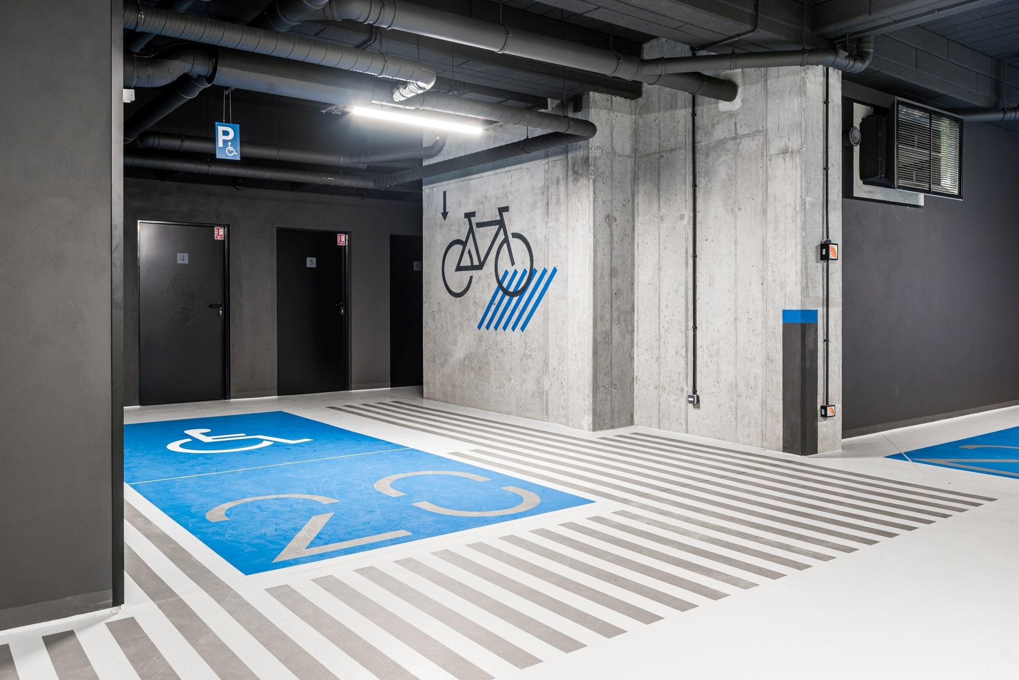 Projekt hala parkingowa Borowego Kraków 4
